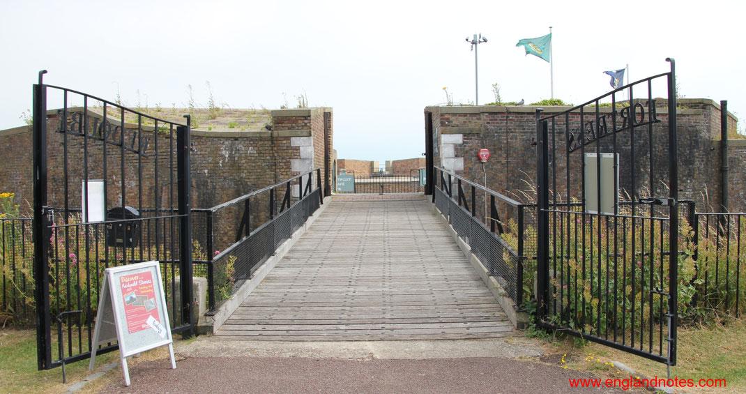 Sehenswürdigkeiten Eastbourne, England: Festung Redoubt Fortress
