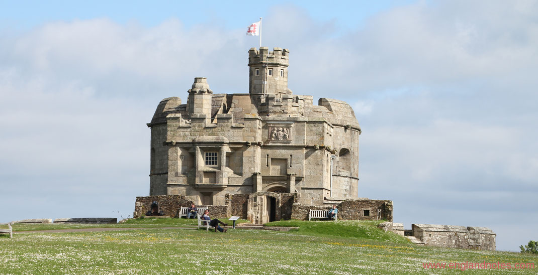 Sehenswürdigkeiten und Reisetipps für Falmouth, England: Pendennis Castle