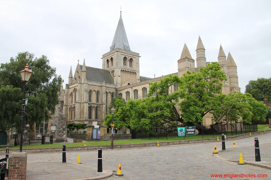 Sehenswürdigkeiten und Reisetipps für Rochester, England: Die Kathedrale von Rochester