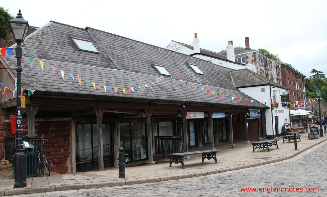 Sehenswürdigkeiten und Reisetipps Exeter, England: Quay House in Exeter