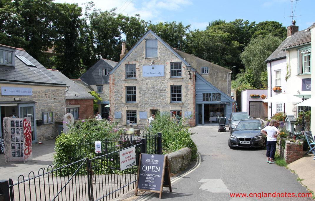 Sehenswürdigkeiten und Reisetipps für Lyme Regis, England: historische Town Mill