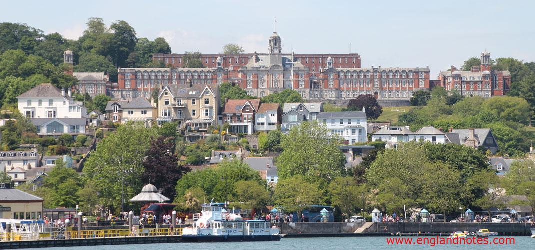 Sehenswürdigkeiten und Reisetipps für Dartmouth: Britannia Royal Navy College in Dartmouth