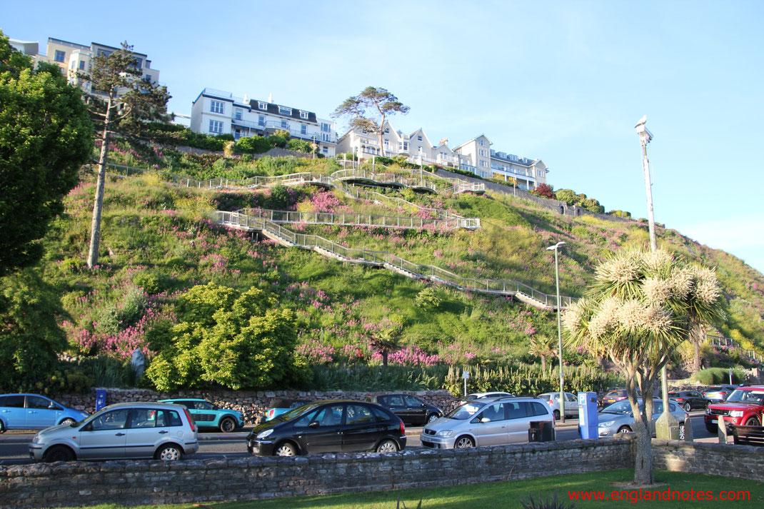 Sehenswürdigkeiten und Reisetipps für Torquay, England: Rock Walk in Torquay