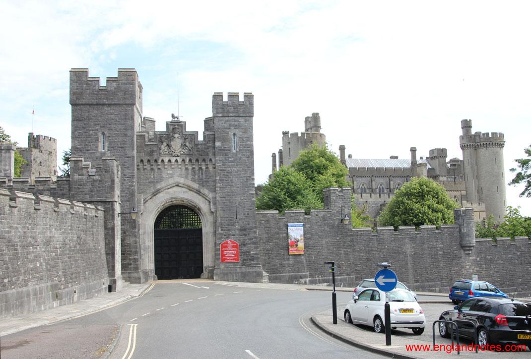 Sehenswürdigkeiten in Arundel, England: Festung in Arundel, Kent, England