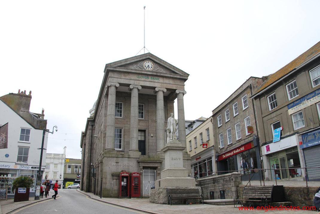 Sehenswürdigkeiten und Reisetipps Penzance, England: Market Jew Street