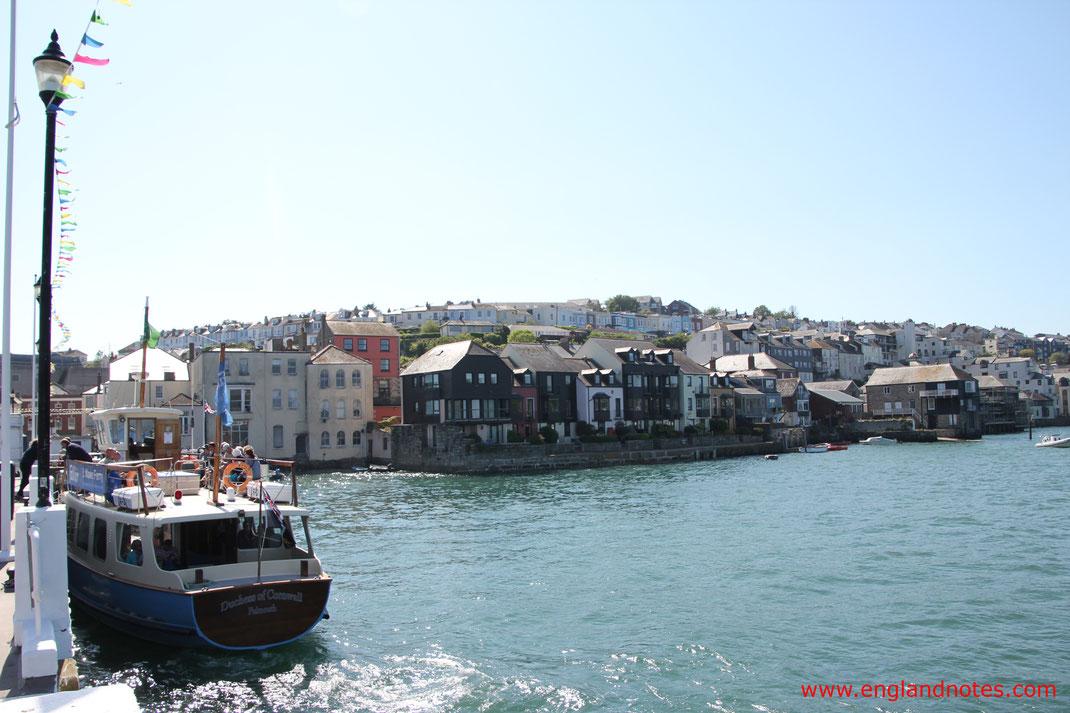 Sehenswürdigkeiten und Reisetipps für Falmouth, England: Falmouth vom Prince of Wales Pier