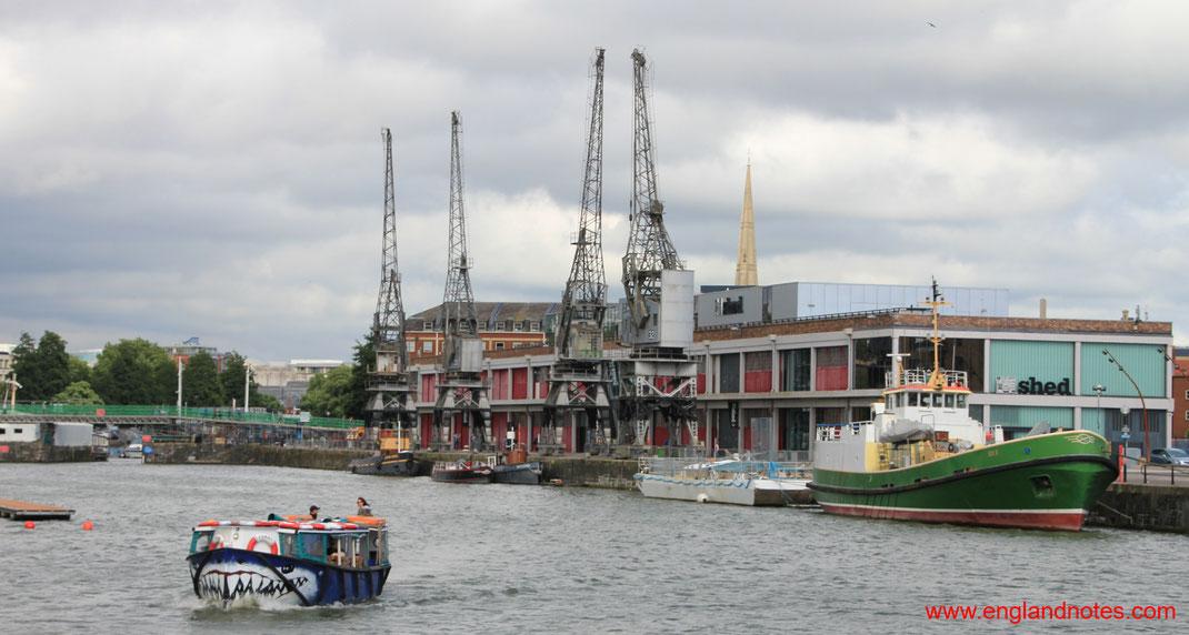 Sehenswürdigkeiten und Reisetipps für Bristol: Museum MShed am Fluss Avon