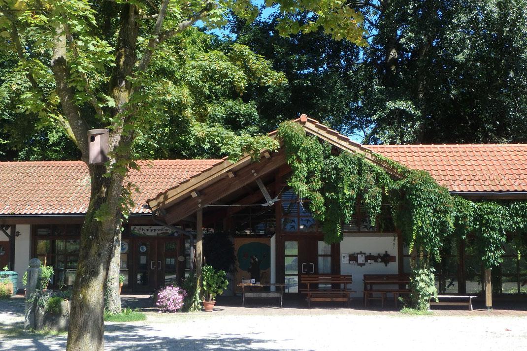 Die Außenstelle Naturpavillon Übersee, Hochfellnweg 1 in 83236 Übersee