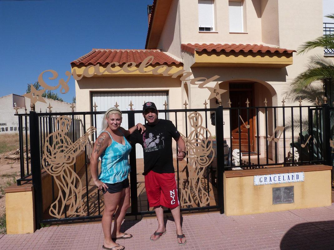 1er août 2014, Monica et Marcos-Elvis