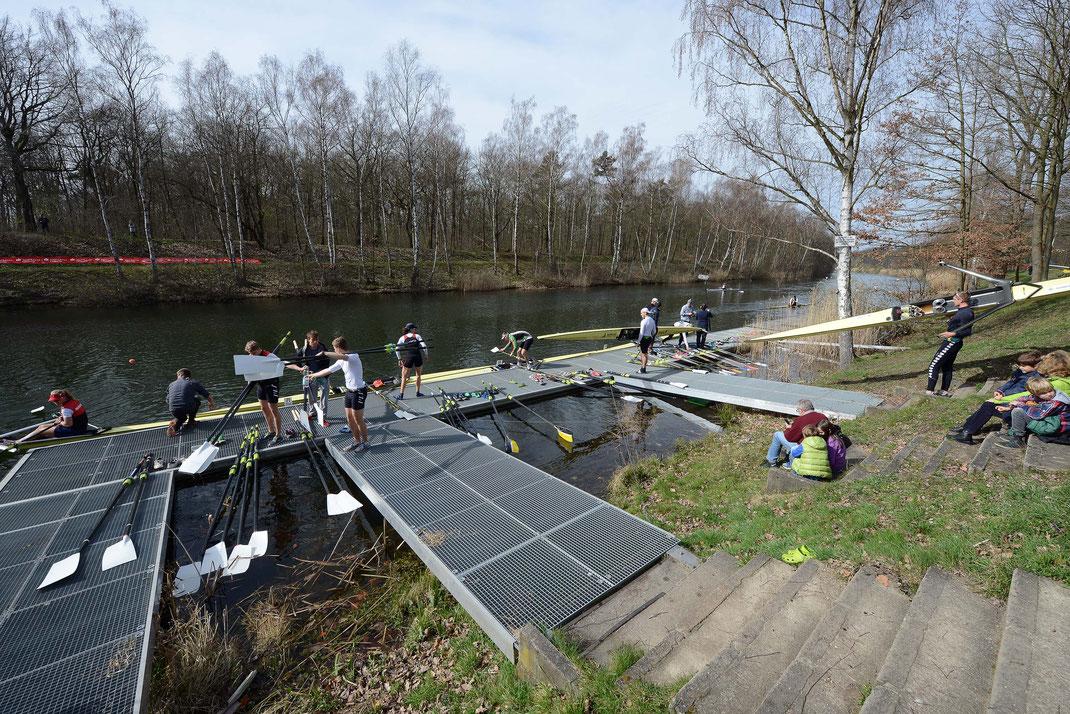 Der Deutsche Ruderverband (DRV) eröffnet am letzten Märzwochenende die Wettkampfsaison 2019. Foto: 2000meter.de