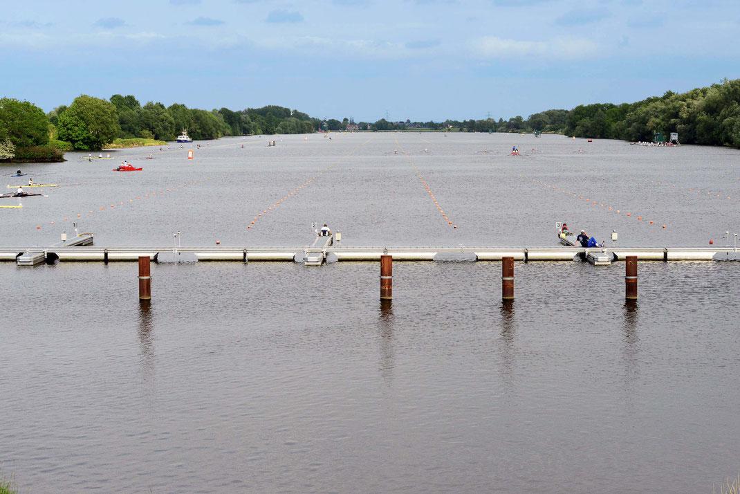 Startanlage im Wasserpark Dove-Elbe. Foto: 2000meter.de