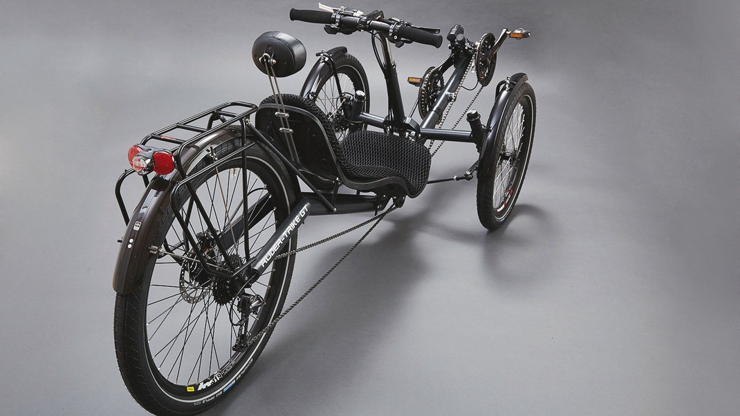 Ruderrad Ruder Trike GT. Tourer und Commuter mit optimalen Trainingseffekt.
