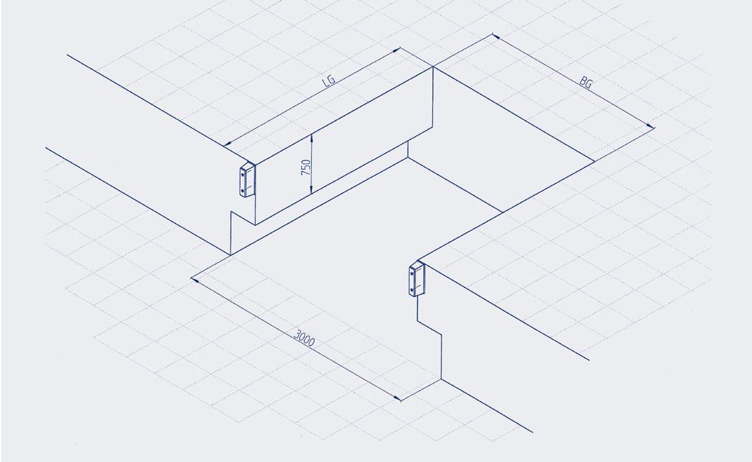 CAD-Planungsdaten Ladebrücke