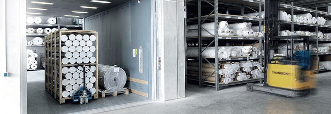 Aufzüge Industrie und Logistik