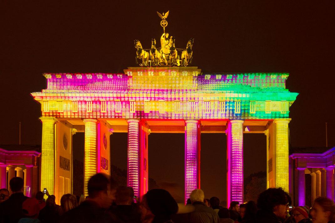 Berlin - Brandenburger Tor - Festival of Lights 2016