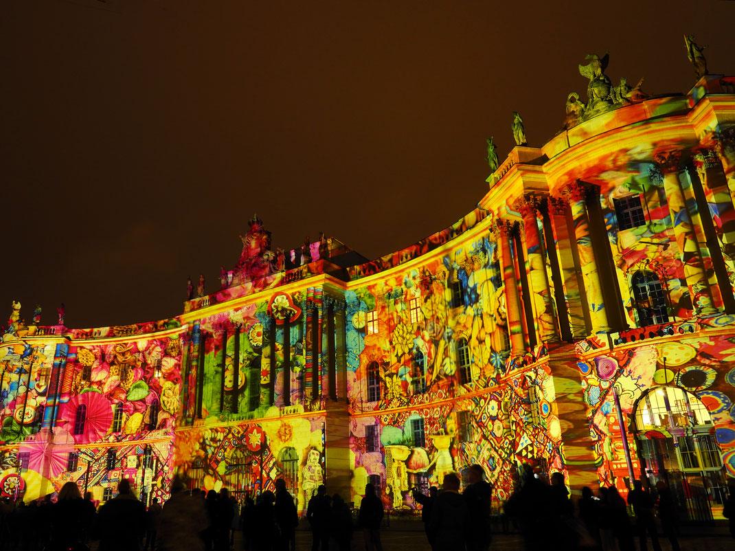 Berlin - Juristische Fakultät - Festival of Lights 2016