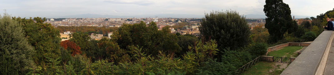 Rom - Blick vom Gianicolo