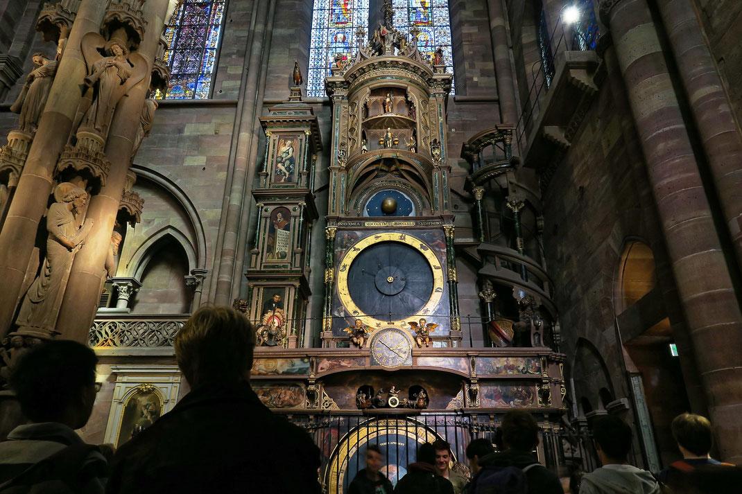 Strassburg - Astronomische Uhr in der Kathedrale