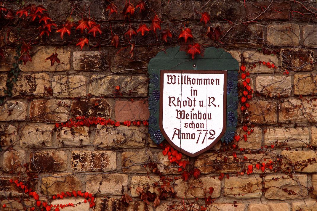 Willkommen in Rhodt unter Rietburg