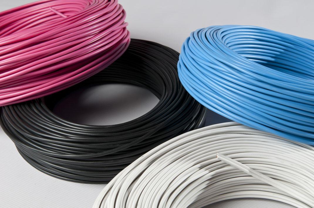 Volumen de tensión de los cables eléctricos