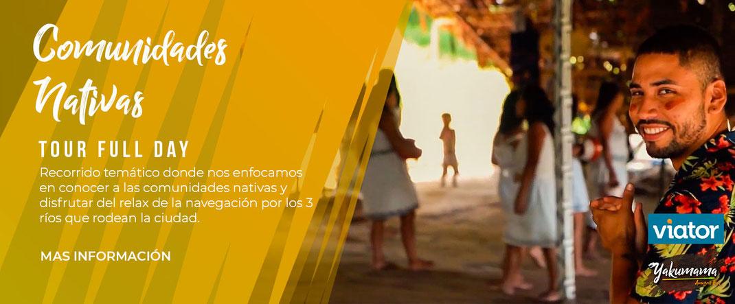 tour iquitos comunidades nativas
