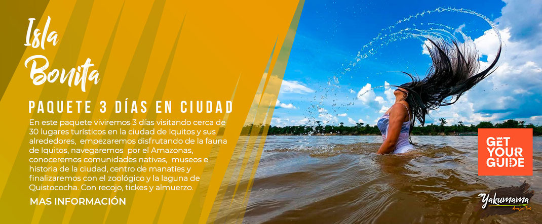 iquitos tour 3 days ciudad