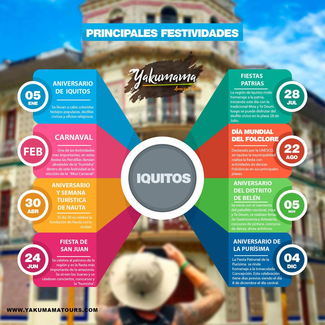 calendario civico Iquitos