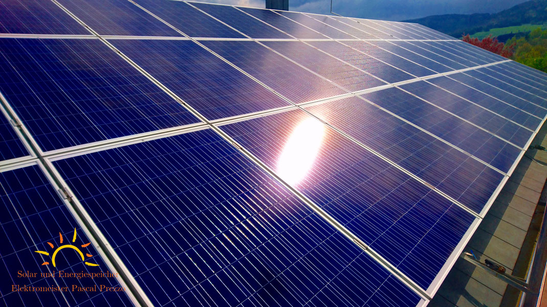 Solaranlage / Photovoltaikanlage