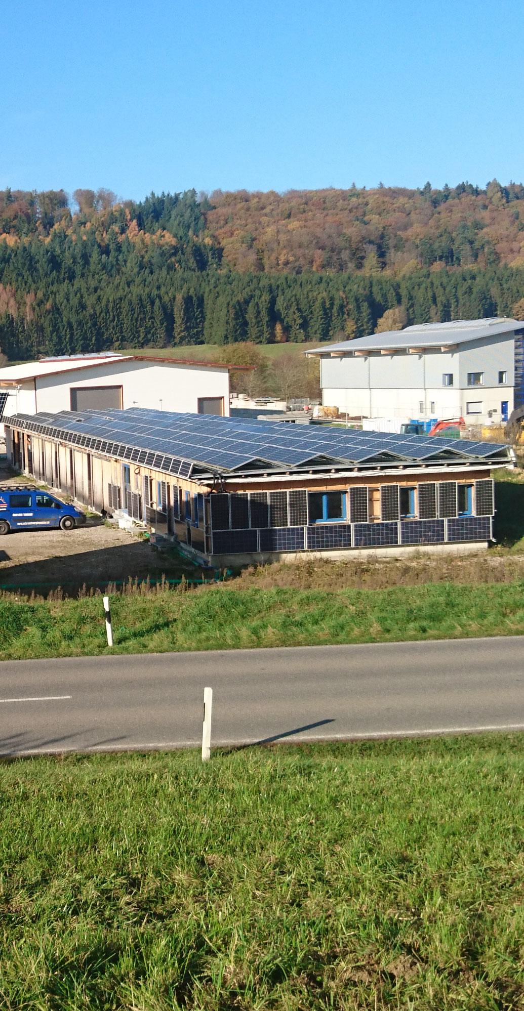 Betriebsgelände Solarenergiezentrum Hochrhein / Solar und Energiespeicher Pascal Prezzo