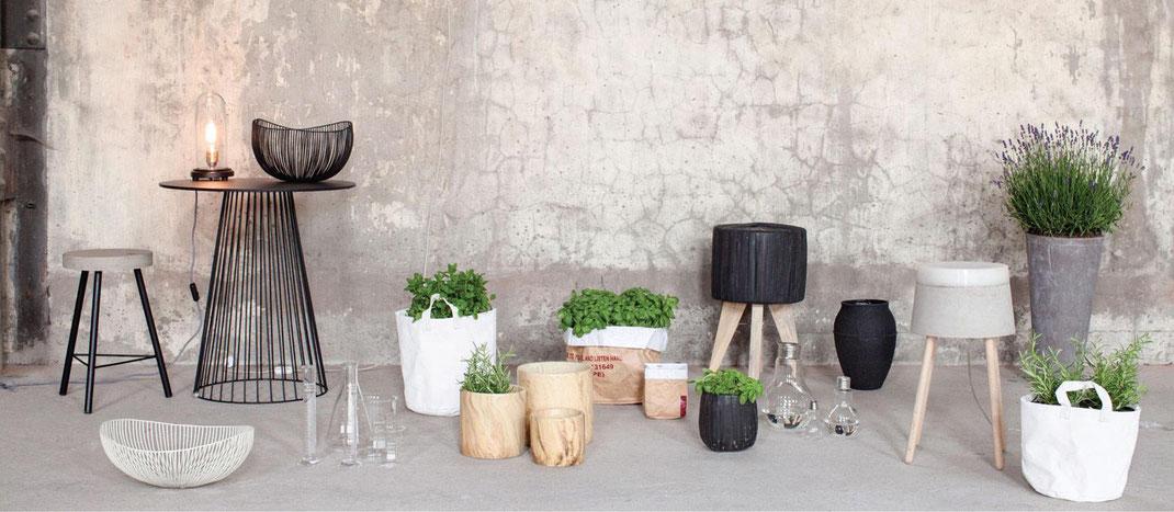 Serax, cache pot, plantes, poterie, déco plantes