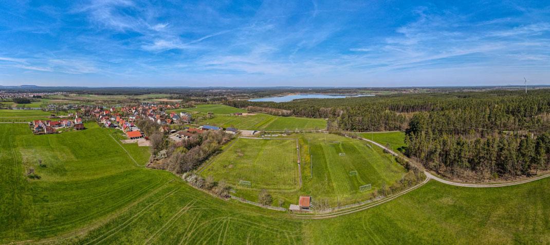 SV Heuberg Luftbildaufnahme
