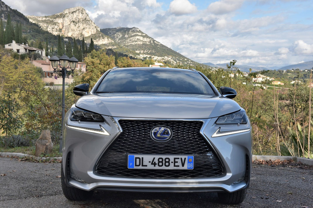 Lexus NX 300 Sport Hybrid in Vence, French Riviera