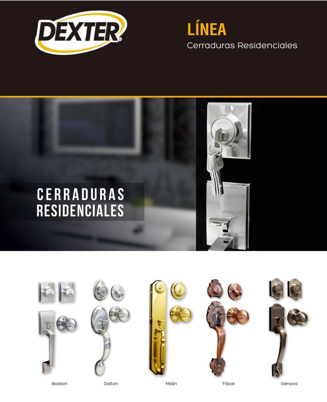 CERRADURAS RESIDENCIALES