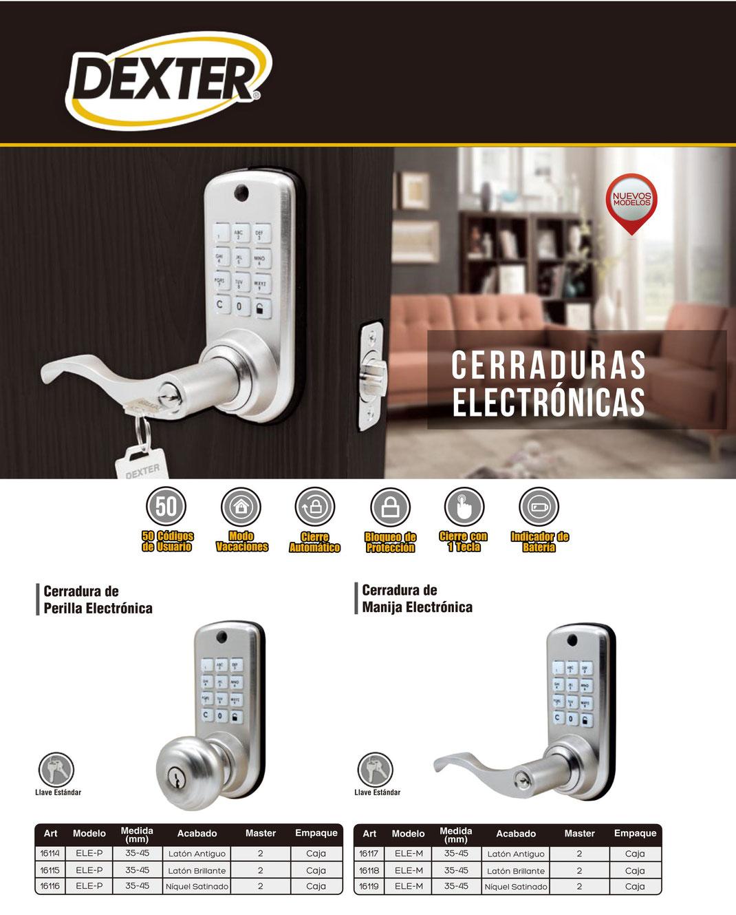 CERRADURAS ELECTRONICAS