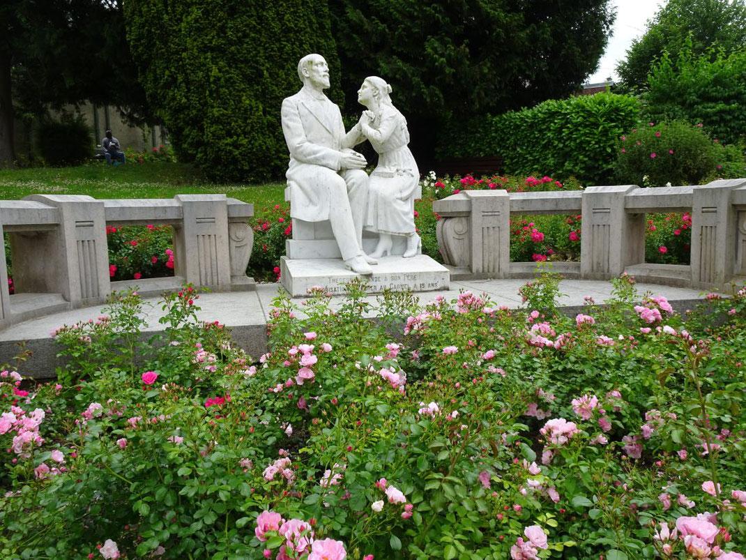 Thérèse demande à son père de l'aider à entrer au Carmel