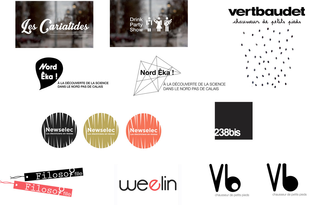 Etudes logos / identité visuelle