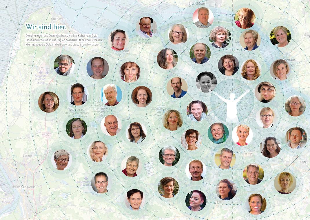 Mitglieder Gesundheitsnetzwerk Kehdingen-Oste