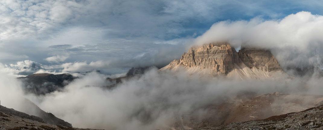 3 Zinnen, tre cimi, UNESCO Weltnaturerbe, Dolomiten