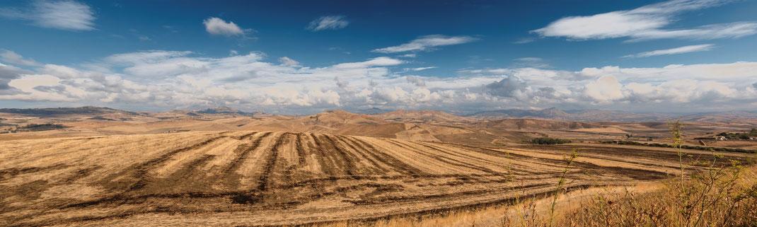 Sizilien Panorama - Im Hinterland der Südküste