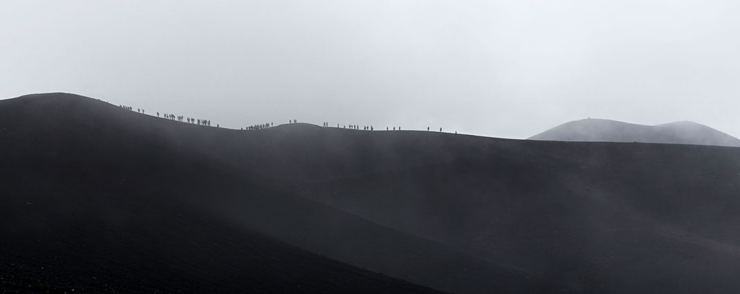 Am Kraterrand - Ätna, Sizilien