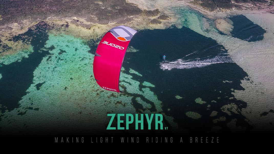 Ozone Zephyr V5 Ozonekites.de
