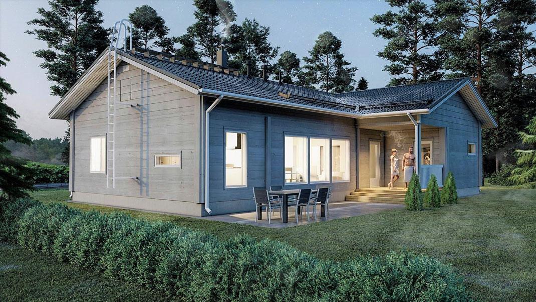 Maison en bois, maison ossature bois, chalet en kit.