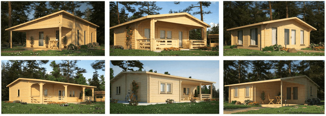 Chalet en kit, maison en bois