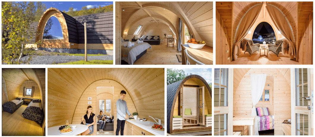 Pod en bois idéal bureau de jardin