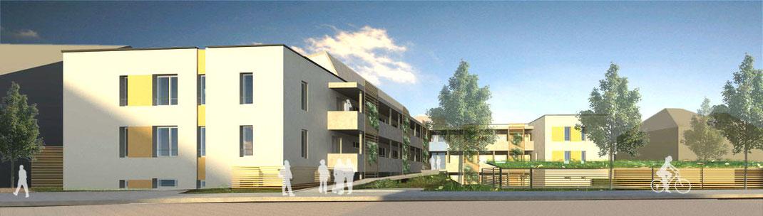 SCHMIDTplanung: Planskizze Bauprojekt Hennewiger Weg 13 – 15