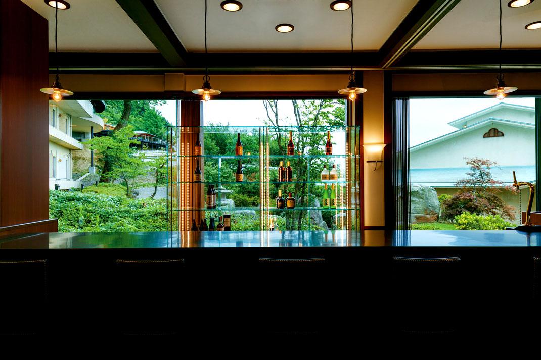 【店舗設計】石川県七尾市和倉温泉旅館多田屋blue garden bar PICASSO