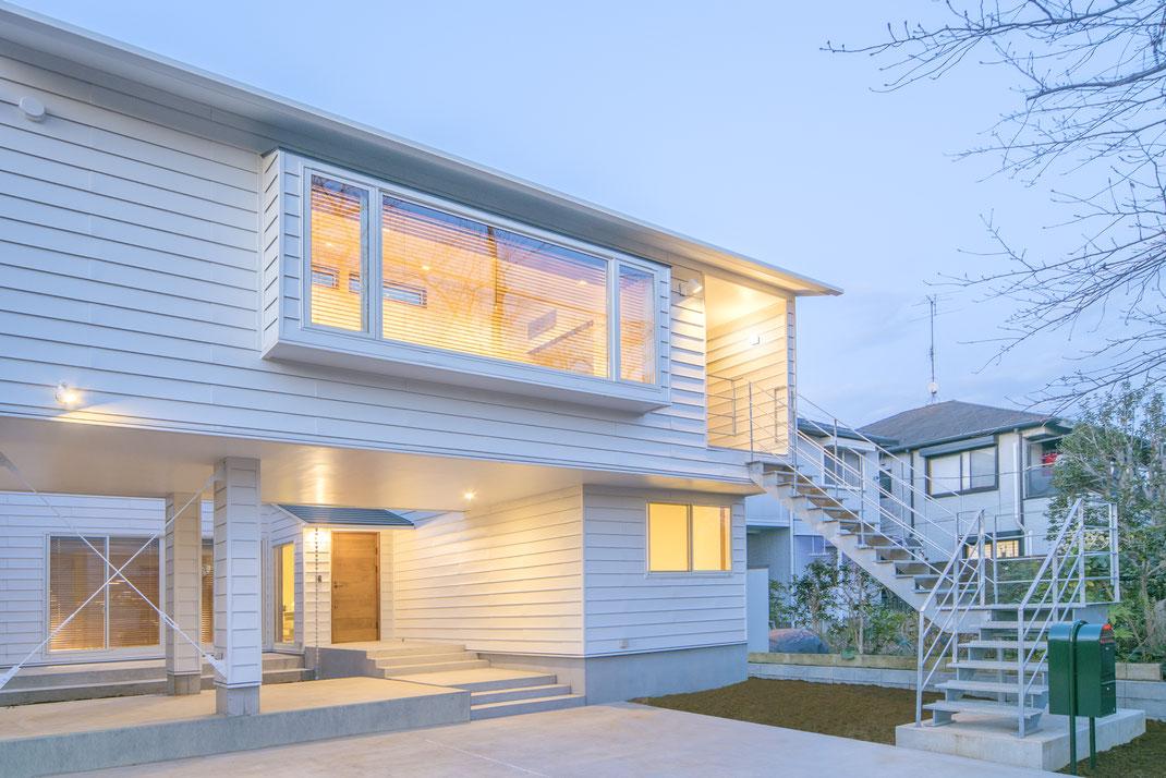 【注文住宅】千葉県松戸市 二世帯住宅 重層長屋の家