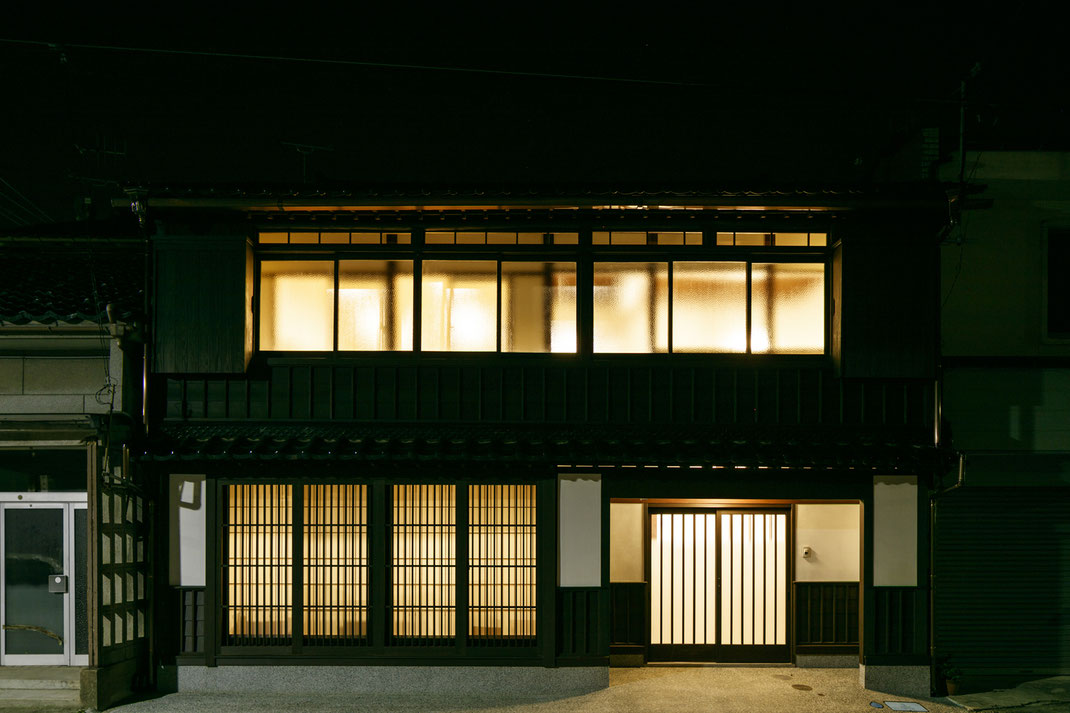【注文住宅】古民家改修(リノベーション) 鍜冶町の家 外観