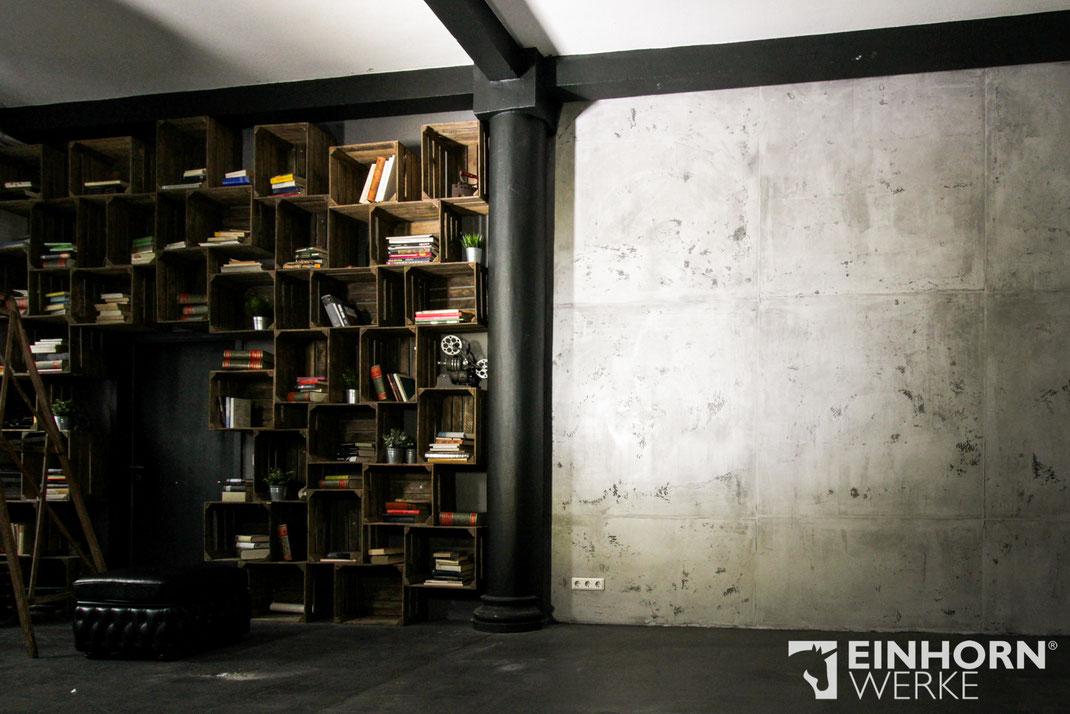 betonoptik betonoptik wandgestaltung. Black Bedroom Furniture Sets. Home Design Ideas