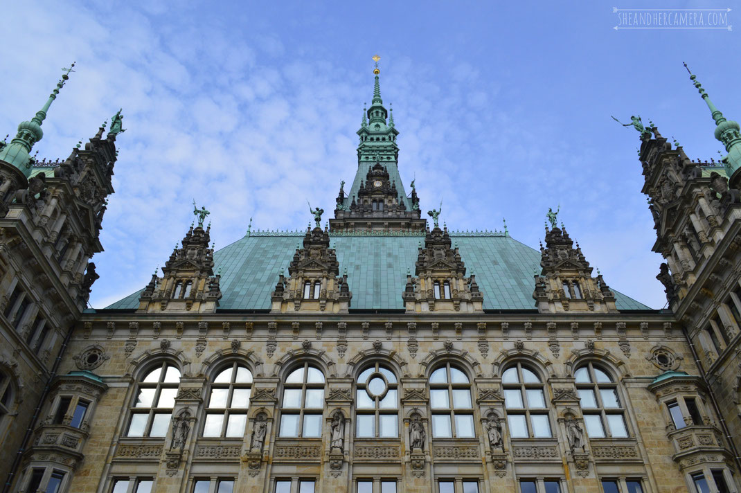 Town hall of Hamburg